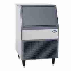 follett maestro UFE425A80-PD self-contained stainless steel under counter flake ice machine