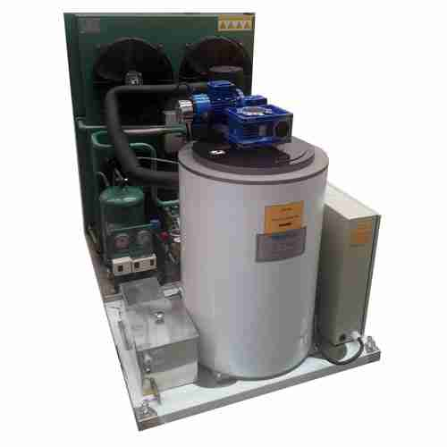 grant ice systems FF3.2-AR flake ice machine with control panel and refrigeration unit