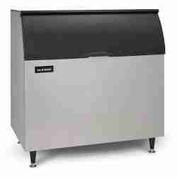 ice-o-matic B110 modular stainless steel ice storage bin