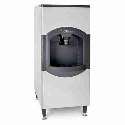 ice-o-matic CD40522 modular stainless steel ice storage bin with ice dispenser