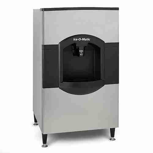 ice-o-matic CD40530 modular stainless steel ice storage bin with ice dispenser