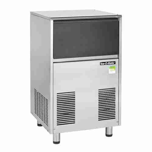 Ice-O-Matic ICEF155 self contained stainless steel flake ice maker