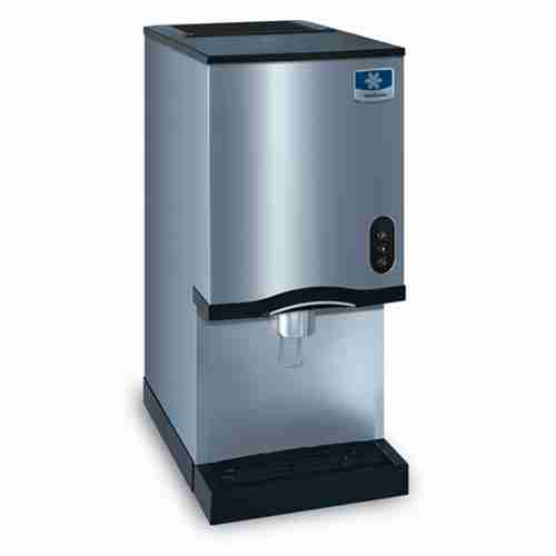 manitowoc RNS-12 stainless steel countertop ice and water dispenser