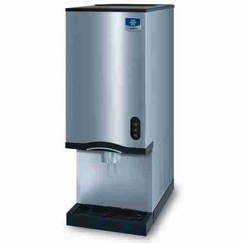 manitowoc RNS-20 stainless steel countertop ice and water dispenser