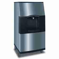 manitowoc SPA310 stainless steel ice storage bin with ice dispenser