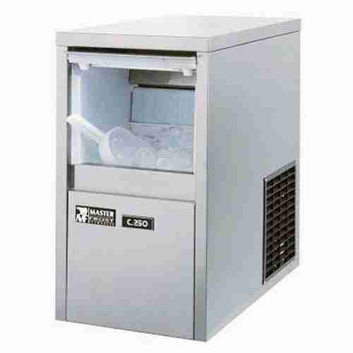 masterfrost C250 self contained stainless steel ice-maker machine