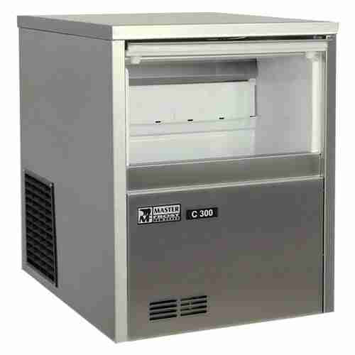 masterfrost C300 self contained stainless steel ice maker machine