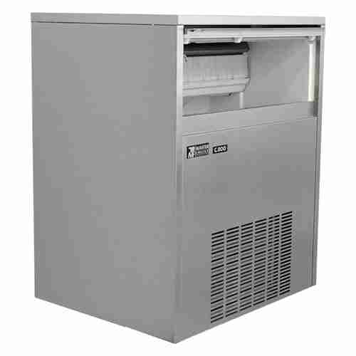 masterfrost C800 self contained stainless steel ice maker machine