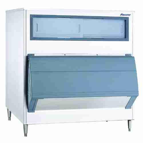 follett E-SG1300-49D single door stainless steel ice storage bin