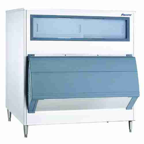 follett E-SG1600-60D single door stainless steel ice storage bin