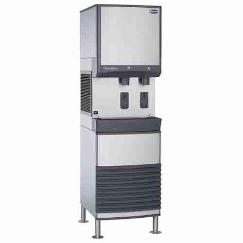 follett E25FB425A-S stainless steel freestanding ice and water dispenser