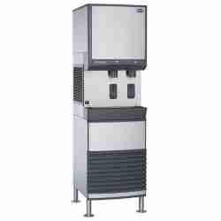 follett E50FB425A-S stainless steel freestanding ice and water dispenser